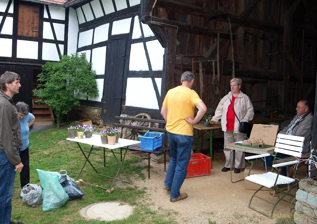 Pflanzentausch und Kräuterwanderung im Bauernmuseum Nitschareuth