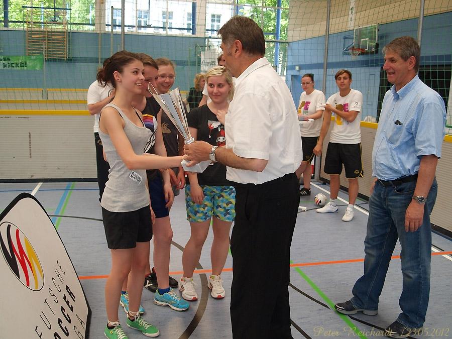 Deutsche Soccer Liga e.V. machte Station in Greiz