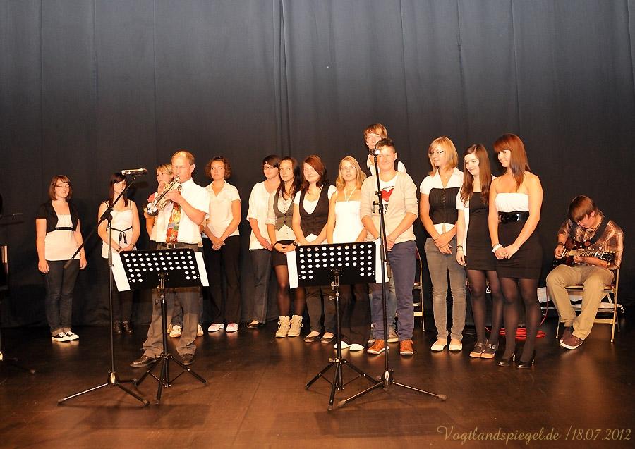 Chor unter Leitung von Steffen Helbing