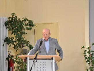 Zeitzeuge Dr.Heinz Steudel berichtet im Ulf-Merbold-Gymnasium