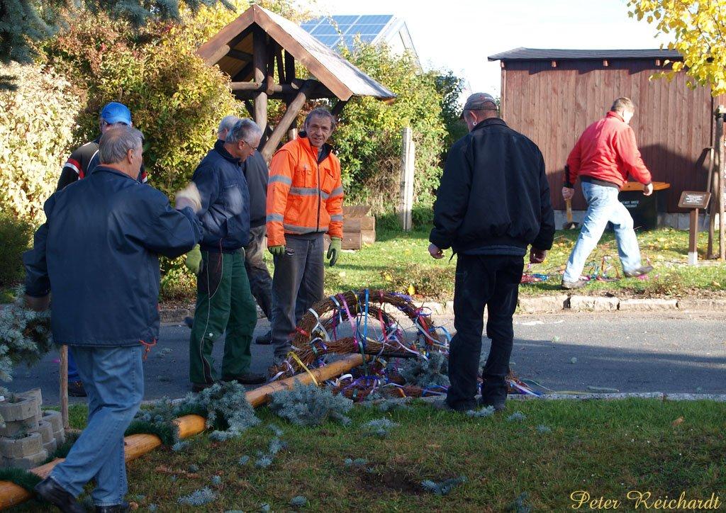 18. Aktionstag »Sauberer und schöner Ortsteil« in Gommla