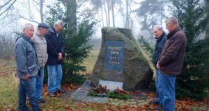 Stilles Gedenken in Gommla am Volkstrauertag