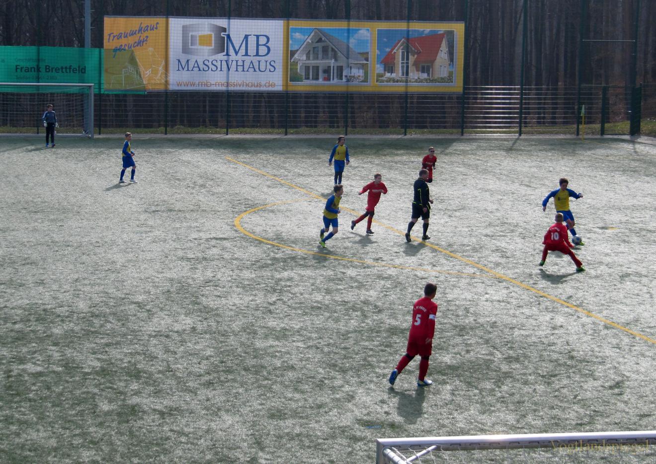 D1-Junioren des 1. FC Greiz