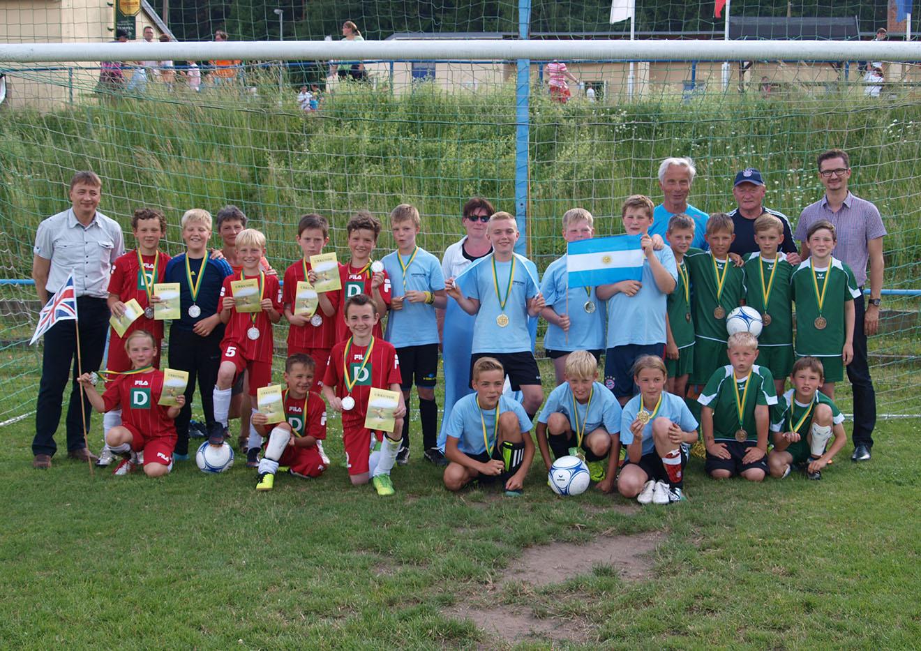 Grundschulkicker des Landkreises Greiz haben ihren Weltmeister ermittelt