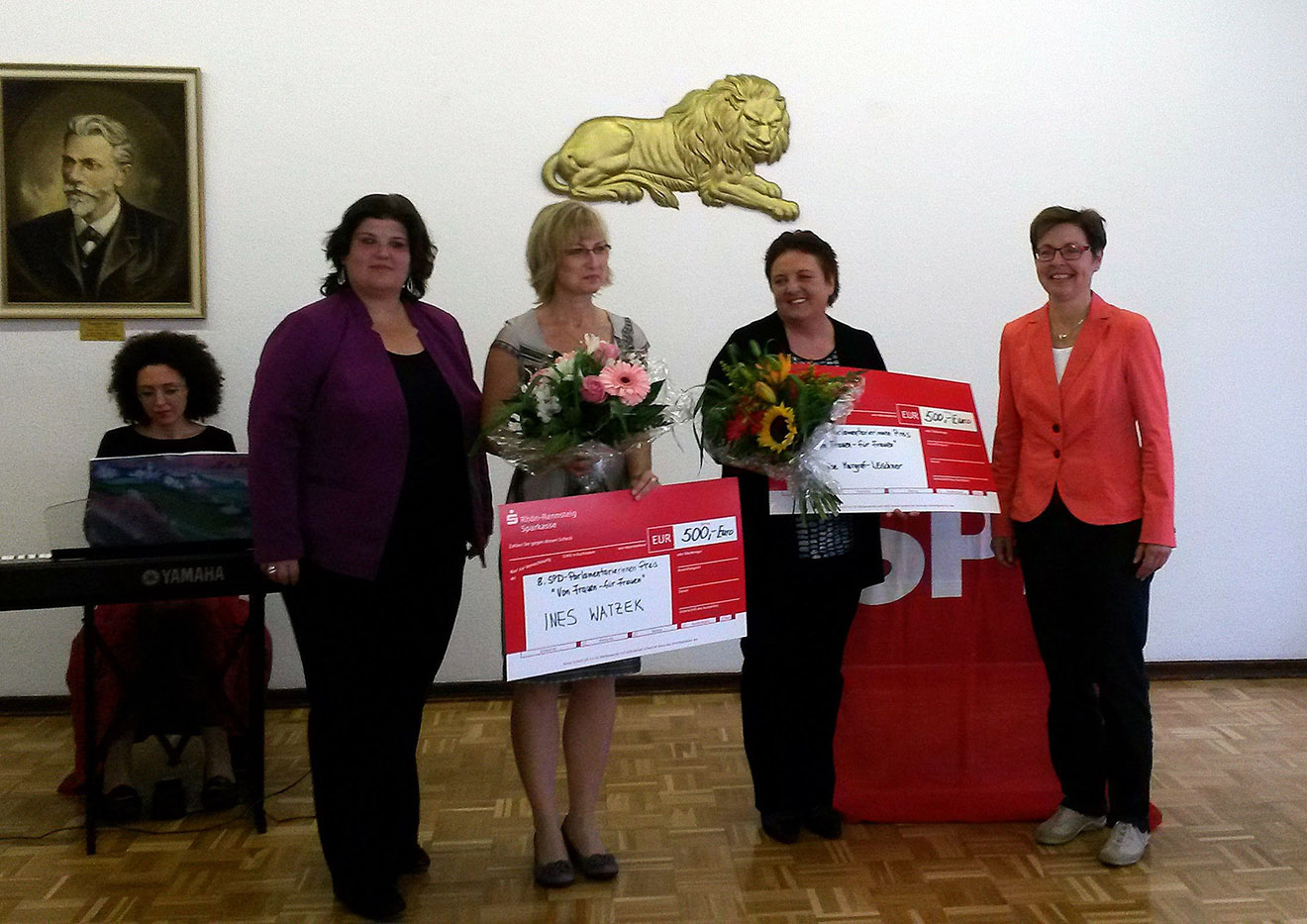 Greizerin Ines Watzek bekommt Frauenpreis