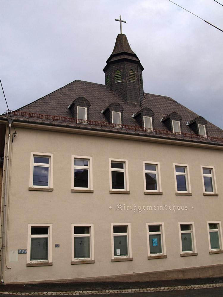 Kirchgemeindehaus in Gommla