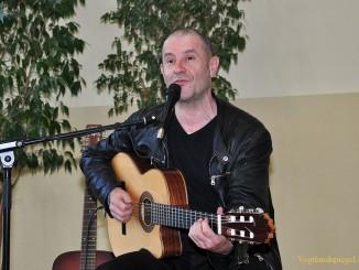 Konzertlesung mit Stephan Krawczyk vor Greizer Lessingschülern