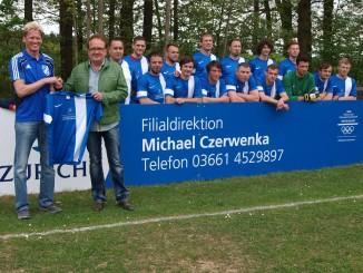 Michael Czerwenka engagiert sich als Sponsor