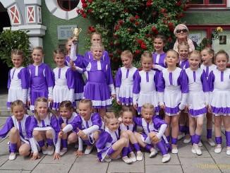 Greizer Eleven erfolgreich beim Rudolstädter Tanzwettbewerb