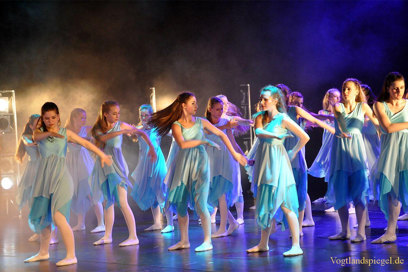 Schillernde Tanzgala der Greizer Musikschule