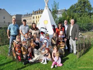 Kleine Indianer in Greizer Neustadt gesichtet